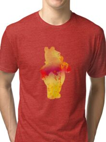 Bear Inspired Silhouette Tri-blend T-Shirt