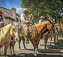 Ready for the Cattle Drive, Fort Worth Stockyards, Texas, USA by TonyCrehan