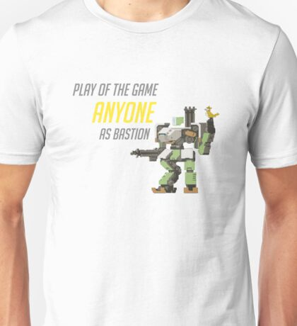 Bastion POTG Play of the game  Unisex T-Shirt