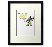 Bastion POTG Play of the game  Framed Print