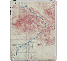 USGS TOPO Map Arizona AZ Parker 315387 1911 125000 iPad Case/Skin