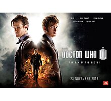 Doctor Who - Day of the Doctor Poster Photographic Print