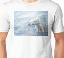 "Polar Bear ""Arctic Sovereign"" Acrylic Painting Unisex T-Shirt"
