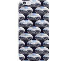 Mount St Helens lava dome 2 oval pattern iPhone Case/Skin