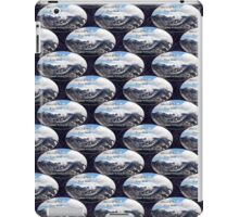 Mount St Helens lava dome 2 oval pattern iPad Case/Skin
