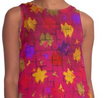 Abstract art patterns Contrast Tank