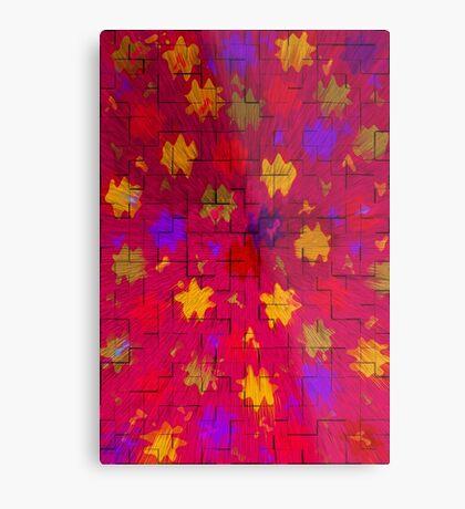 Abstract art patterns Metal Print