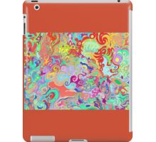 Compass Multi-colour Bold Organic Living Art Design iPad Case/Skin