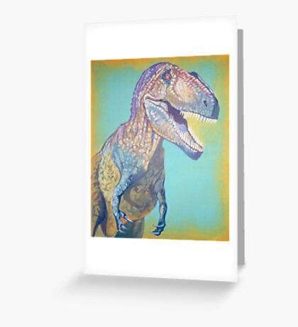 The King of Dinosaurs Greeting Card