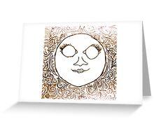 La Luna Greeting Card