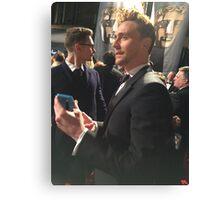 Tom Hiddleston Bafta Canvas Print