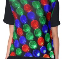 Disco Lights Chiffon Top