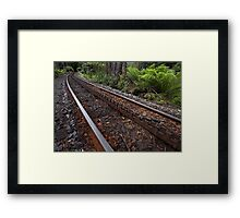 Rack and pinion Framed Print