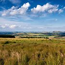 Scotland view from the English borders by Jeremy Lavender Photography