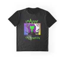 Happy Halloween Spooky Wicked Witch Graphic T-Shirt