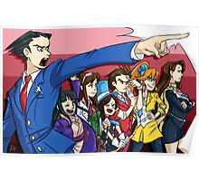 Ace Attorney Defense  Poster