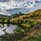 Countryside in the Scottish Borders area by Jeremy Lavender Photography
