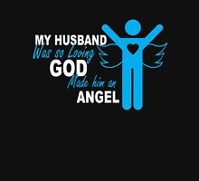 Angel Husband Womens Fitted T-Shirt