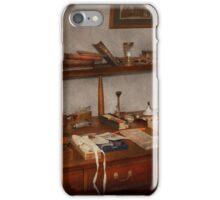 Doctor - Vet - The desk of a Veterinarian iPhone Case/Skin