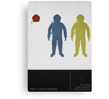 2001: A Space Odyssey (Minimalist Print) Canvas Print