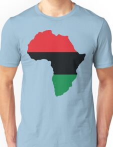 Red, Black & Green Africa Flag Unisex T-Shirt
