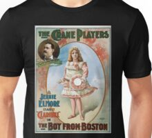 Performing Arts Posters The Crane Players Jennie Elmore as Claribel in The boy from Boston 1043 Unisex T-Shirt