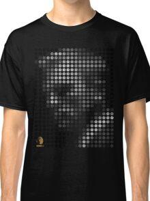 BOND 50 - Facedot Black & White Classic T-Shirt