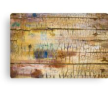 Wood background - Vintage textured wallpaper Canvas Print