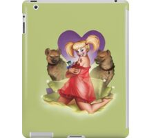 Don'tcha Wanna Rev Up your Harley? iPad Case/Skin