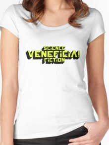 VENEFICIA Women's Fitted Scoop T-Shirt
