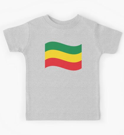 Green, Gold & Red Flag Kids Tee