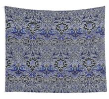 William Morris Peacock And Dragon Wall Tapestry