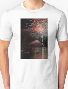 Fireworks over Ohio River Unisex T-Shirt