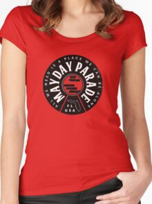 Mayday Parade Albums 3 radamelandreana Women's Fitted Scoop T-Shirt