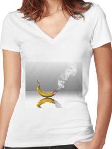 Smoke em if you Got em Women's Fitted V-Neck T-Shirt