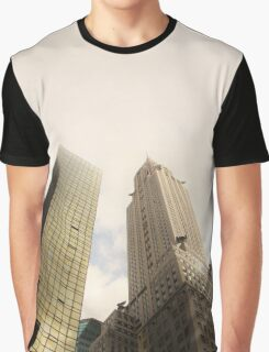 Gold Skyscrapers Graphic T-Shirt
