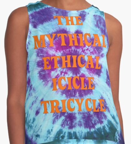 The Mythical Ethical Icicle Tricycle Contrast Tank