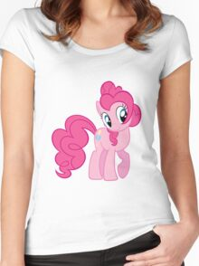 Pinkie Pie (My Little Pony) Women's Fitted Scoop T-Shirt