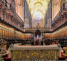 Coro - Catedral de Sevilla, Andalucia, Spain by TonyCrehan