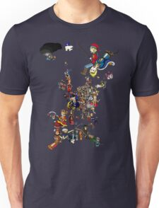 Renaissance Europe National Personification Map Unisex T-Shirt