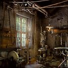 Machinist - Industrial revolution by Mike  Savad