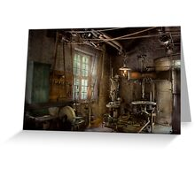 Machinist - Industrial revolution Greeting Card