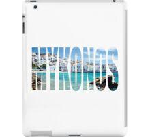 Mykonos iPad Case/Skin