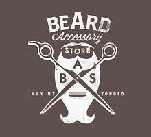 Beard Accessory Store logo - dark background Unisex T-Shirt