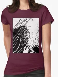 God of Thunder Womens Fitted T-Shirt