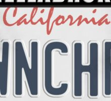 License Plate w/ Frame - TWINCHARGED Sticker