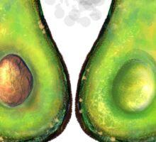 Avocado's number Sticker