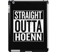 Straight Outta Hoenn iPad Case/Skin