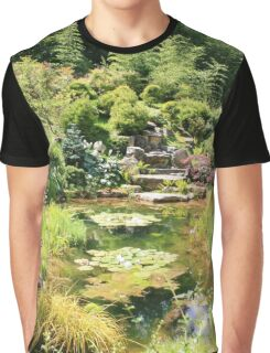 The Tea Garden, Kingston Lacy House, Dorset Graphic T-Shirt