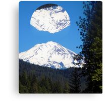 Shasta Mountain Canvas Print